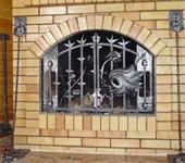 кованые изделия для камина